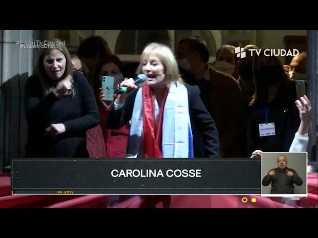 La Letra Chica | Carolina Cosse Intendenta