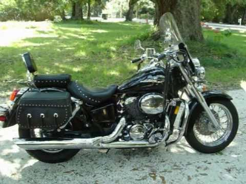 2002 honda shadow 750 ace youtube. Black Bedroom Furniture Sets. Home Design Ideas