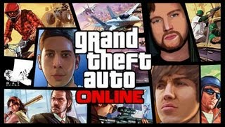 Grand Theft Auto 5 Online - Hold Ups, Hookers and Hatchbacks(Previous GTA V: http://youtu.be/79eyfWFxCg0 Next GTA V: http://youtu.be/2TcOqNArdh4 The hotly awaited GTA V Online series is finally here. We're jumping ..., 2013-10-11T16:30:00.000Z)