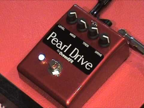 oceanefx pearl drive overdrive guitar effects pedal demo youtube. Black Bedroom Furniture Sets. Home Design Ideas
