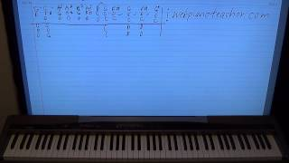 How To Play Did It In A Minute On The Piano - Easy Lesson!
