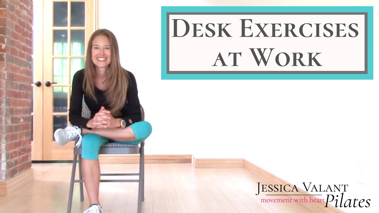 Desk Exercises At Work 10 Minute Desk Stretches For Energy