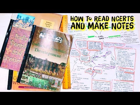 How To Read NCERT For IAS Preparation ☆ How To Make Notes ☆ INDIASHASTRA | UPSC