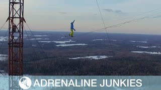 Highliners Walk Between Russia's Highest Tower