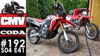 CMV#192: CRF250 Rally & XR650 vs poligon - CODA MV