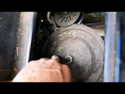 How to replace drive belt in MTD Yard Machine