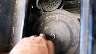 How to replace drive belt in MTD Yard Machine