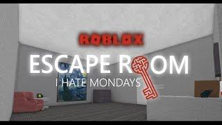 Escape Room [Alpha] Roblox - I hate Mondays