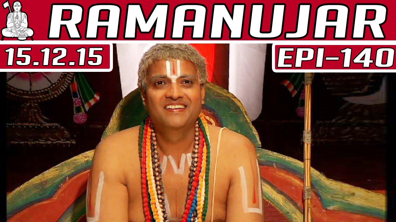 ramanujar epi 140 tamil tv serial 15 12 2015 kalaignar tv