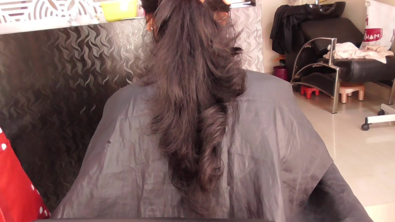 layer haircut front and back full layer haircut youtube