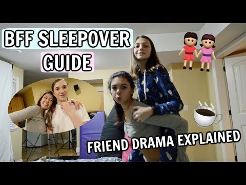 PERFECT BFF Christmas Sleepover Guide! | Best Friend Drama EXPLAINED!! | Bethany G