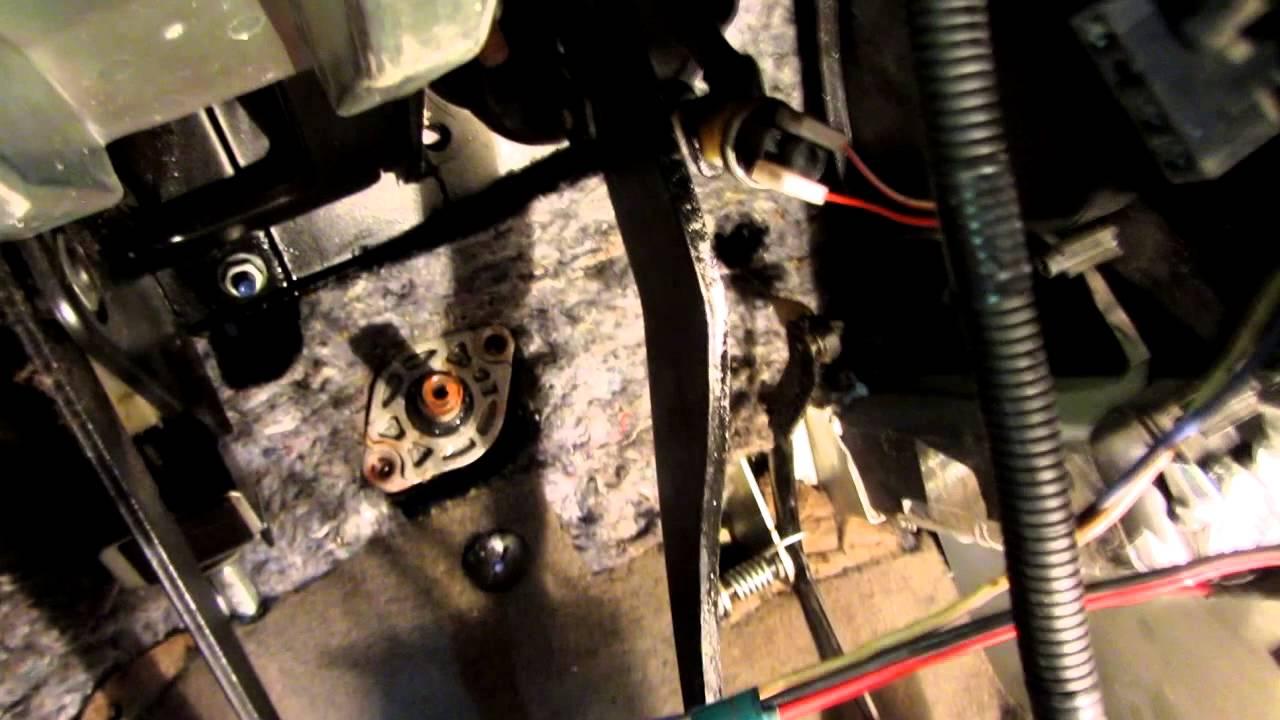 Ремонт рулевой рейки Калина установка тарельчатая пружина SS 20