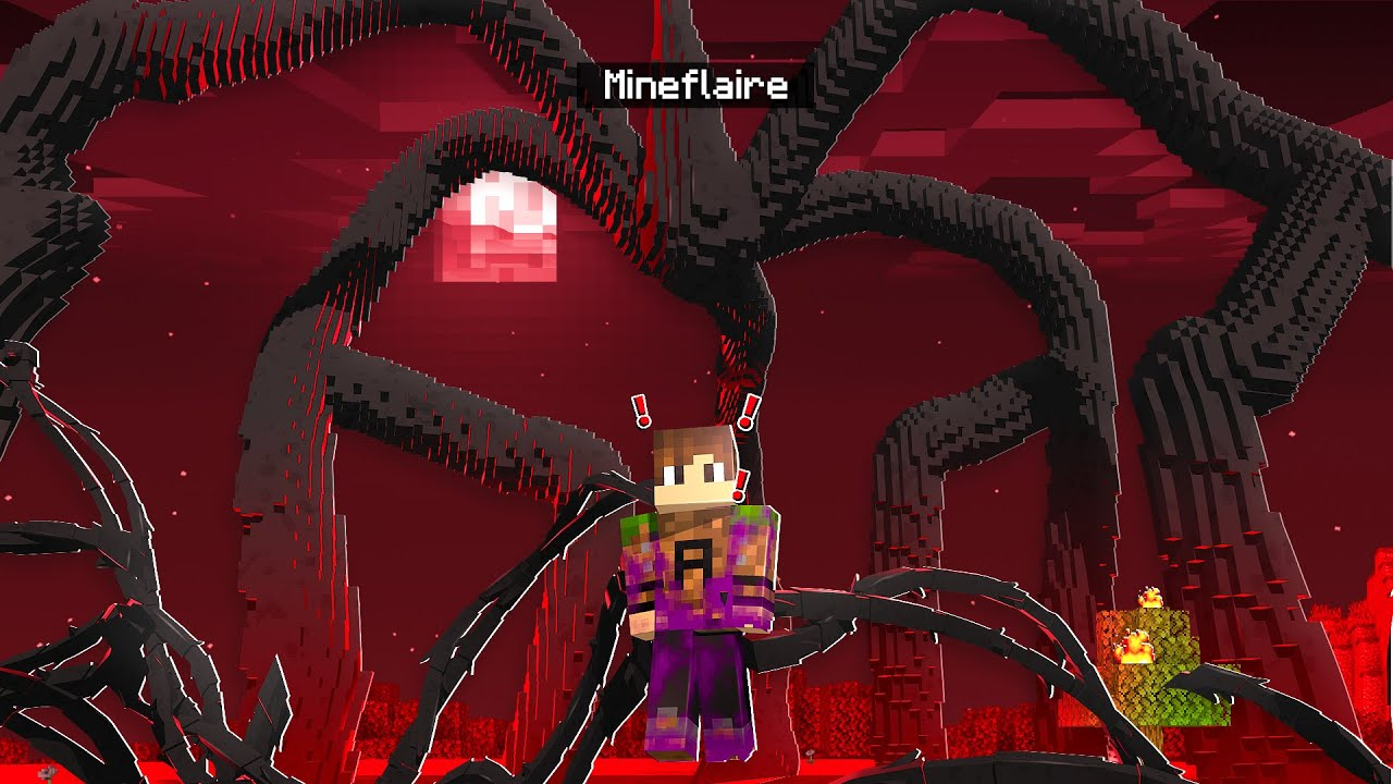 Download BECOMING THE MIND FLAYER IN MINECRAFT! (turned evil) | Minecraft Stanger Things Pt. 3