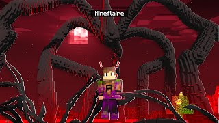 BECOMING THE MIND FLAYER IN MINECRAFT (turned evil)  Minecraft Stanger Things Pt. 3