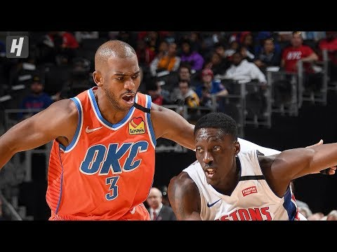 Oklahoma City Thunder Vs Detroit Pistons - Full Game Highlights | March 4, 2020 | 2019-20 NBA Season