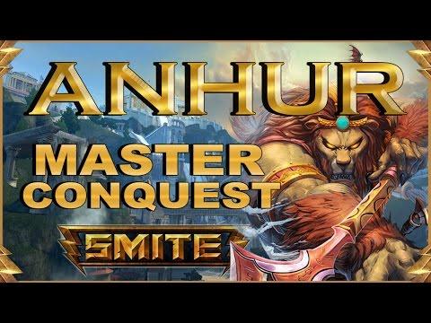 SMITE! Anhur, Nueva skin mejores impales?! Master Conquest S4 #16