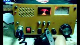 80m Band QSO with Homebrew QRP SSB ----YC3LSB