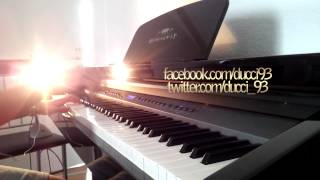 Flo Rida - Whistle (piano cover by Ducci, lyrics, HD, download)