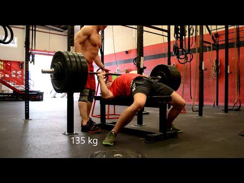 download 130 & 135kg bench press @72kg bw