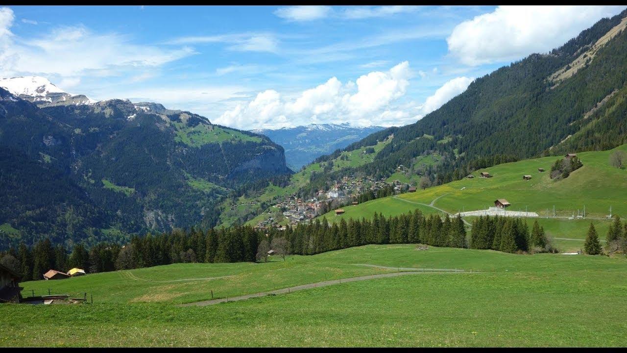 2017 瑞士旅遊風景太漂亮阿爾卑斯山群少女峰盧森 - YouTube