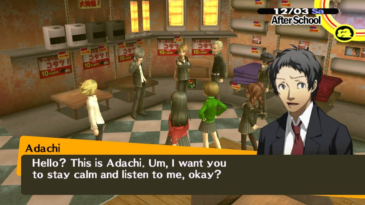 Persona 4 dating Nanako