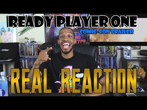 Ready Player One Comic-Con Trailer....Real Reaction