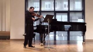 Joaquin Reyes B (Viola) - Bach, Suite no.1 in G Major.