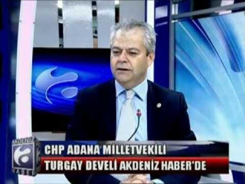 CHP Adana Milletvekili Turgay DEVELİ.