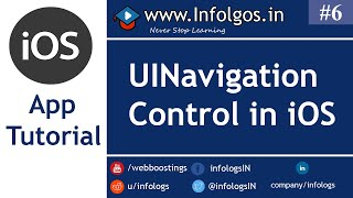 How to Use UINavigation Control in xCode - Tutorial 6
