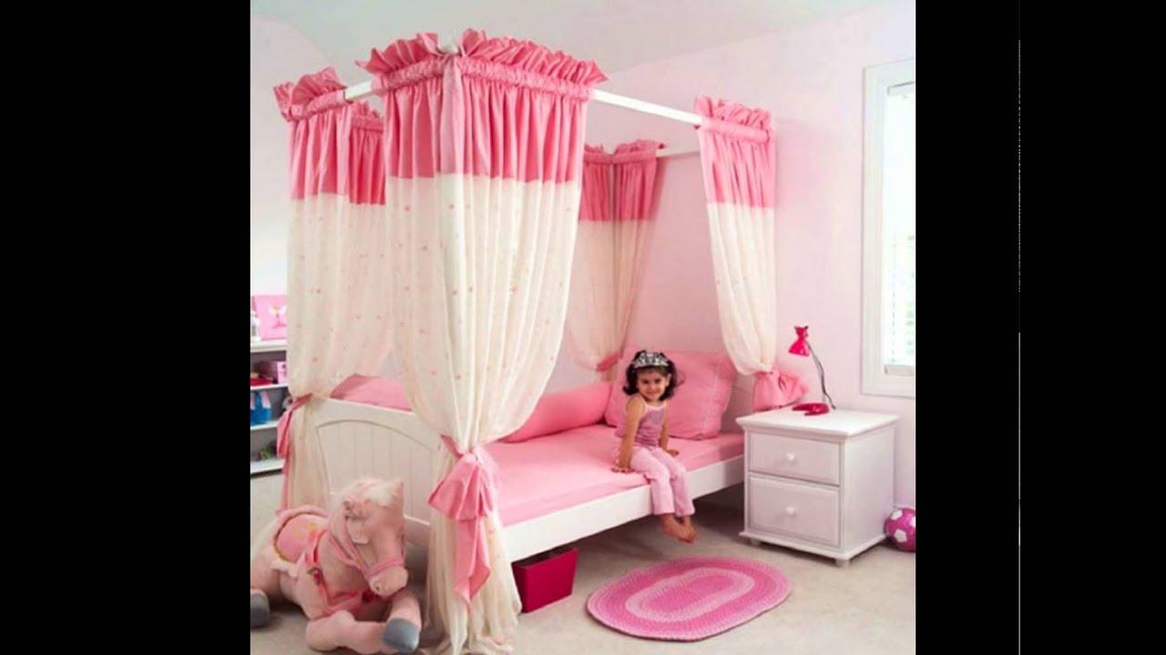 single-bed-little-girls-bedroom--design-ideas - YouTube