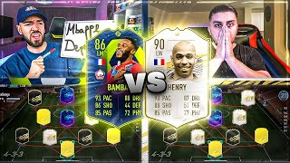 FIFA 21: POTM BAMBA vs ICON HENRY SQUAD BUILDER BATTLE 🔥🔥 Wakez vs Seko