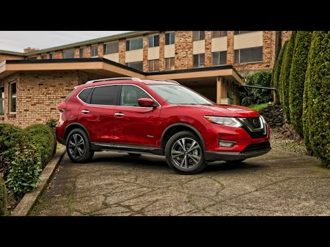 2017 Nissan Rogue Hybrid Car Review - YouTube