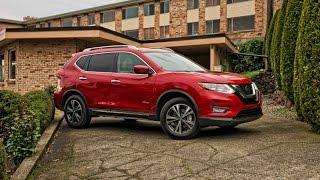 2017 Nissan Rogue Hybrid Car Review