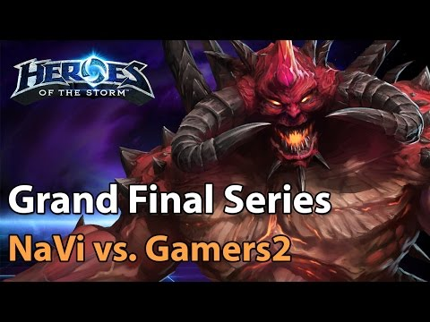 ► Heroes of the Storm (Pro Gameplay) - NaVi vs. Gamers2 (Bo3