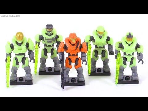 Mega Bloks Halo Last Man Standing II review! Glow-In-The-Dark figure pack