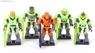 Mega Bloks Halo Last Man Standing II review! Glow-In-The-Dark figure pack