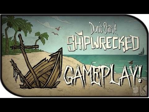 Don't Starve: Shipwrecked Gameplay! (New Upcoming Expansion!) (Part 1)