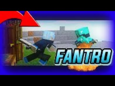 🔥 FANTRO! - Minecraft Animation Intro | Made By: Speed Cuber // Leader of Quartz