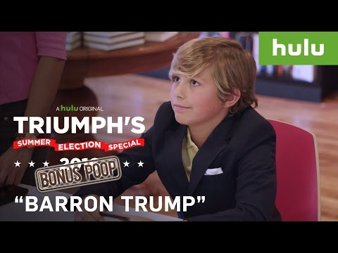 Fake Barron Trump Book Signing Fools Trump Supporters • Triumph's Summer Election Special 2016