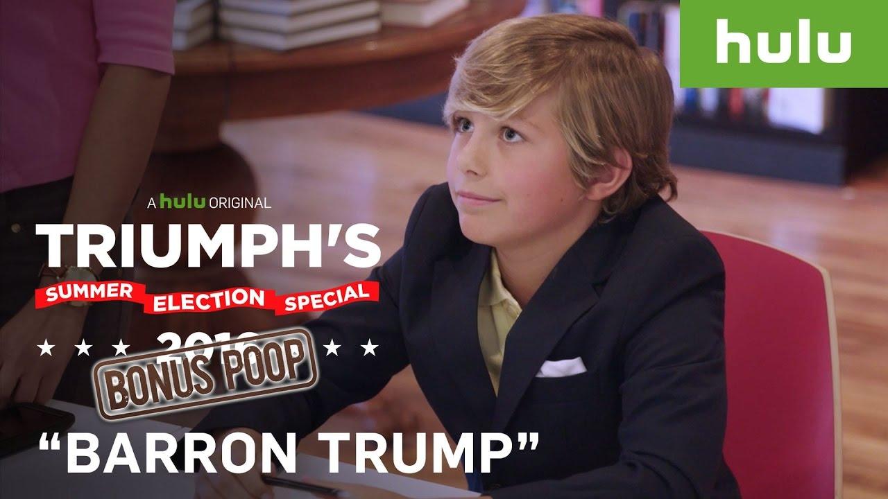 fake barron trump book signing fools trump supporters • triumph's