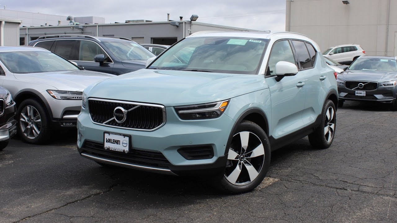 2019 volvo xc40 momentum in depth first person look youtube. Black Bedroom Furniture Sets. Home Design Ideas