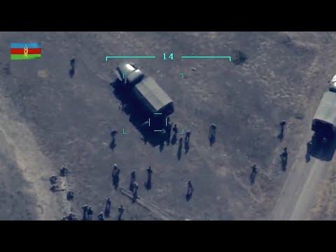 Azerbaijani military drones VS Armed Forces of Armenia in Nagorno Karabakh
