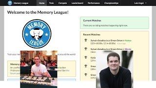 Memory League Alex Mullen vs Simon Reinhard