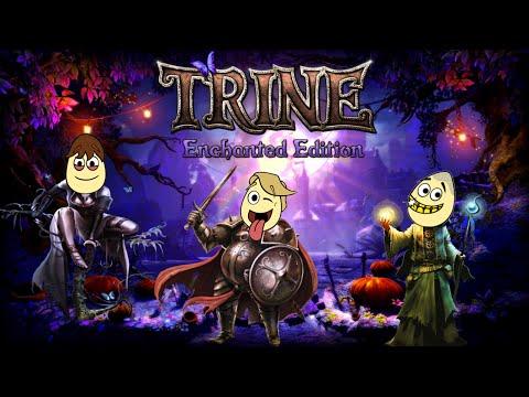Trine: Enchanted Edition | Let's Play | Part 2 | w/ Tunkum, BigDog & Gangsta |