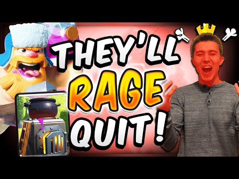 DIRTY DECK NEVER DIES! Make Opponent Rage Quit W/ Royal Giant — Clash Royale