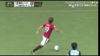 浦和レッズ 1-1 川崎フロンターレ 浦和レッズ1点返す!興梠慎三のゴール