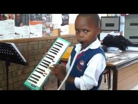 Nathi Nomvula melodica cover by kid
