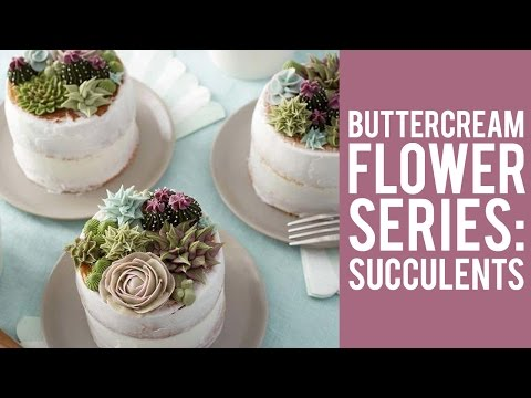 how-to-make-buttercream-flowers:-succulents
