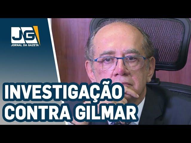 Receita Federal abre investigação contra Gilmar Mendes