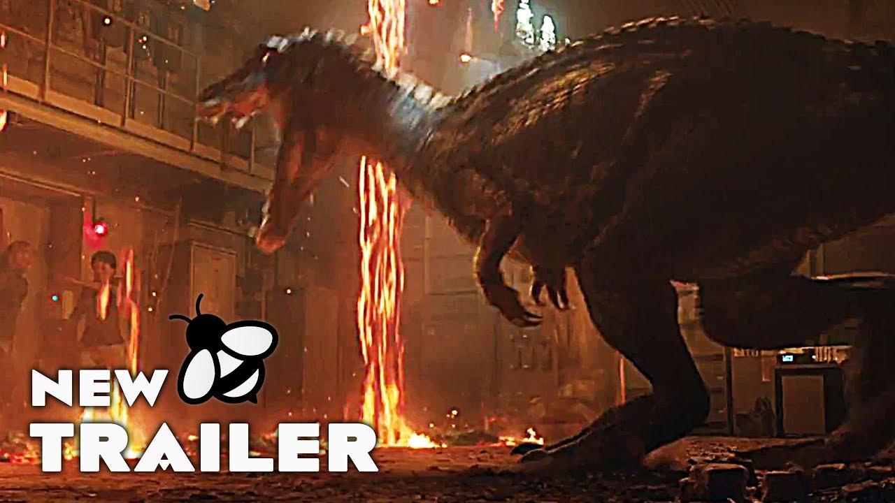 Jurassic World 2 Final Teaser 2018 Fallen Kingdom